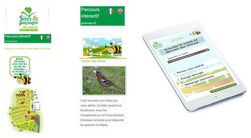 e-tourisme parcours mobile smart360 cheverny
